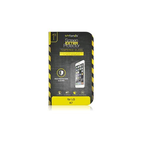 FONEX Protezione Schermo in Vetro Temperato per LG K7 (1Pz)