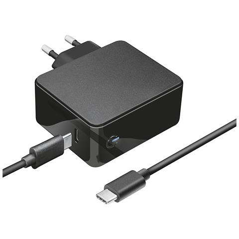 TRUST Caricabatteria Summa Universale USB-C da 45 W Colore Nero