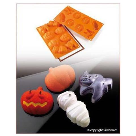 Stampo halloween 8 cavita let's celebrate silicone