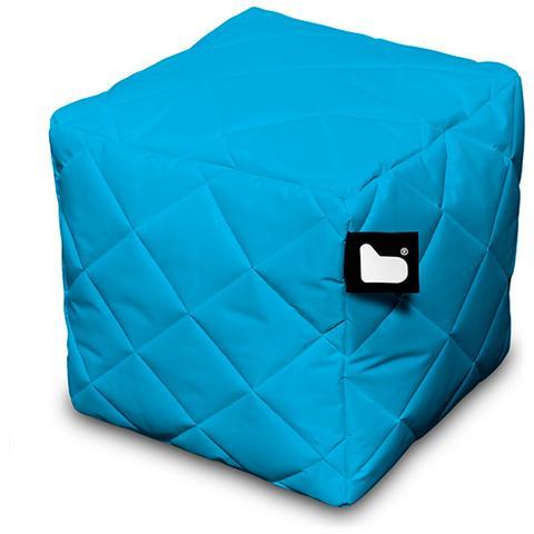 B-BAG Pouf Outdoor B-box Aqua Trapuntato