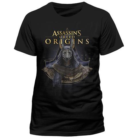CID Assassins Creed Origins - Gold Anubis (T-Shirt Unisex Tg. S)