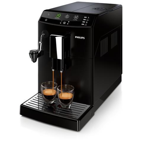 Macchina da Caffè Espresso Automatica Serie 3000 Serbatoio 1.8 Lt. Potenza 1850 Watt Colore Nero