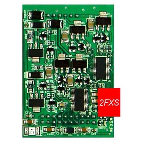 Mypbx VoIP scheda 2 interni fxs