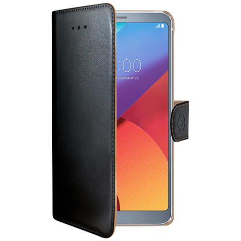 CELLY Flip Cover Custodia Wally per LG G6 colore Nero