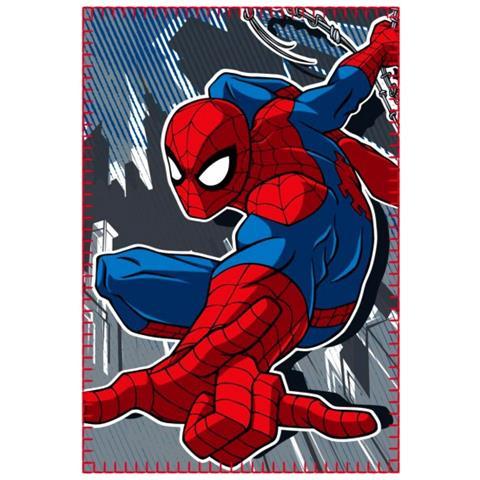 Spiderman Coperta In Caldo E Morbido Pile 437434 100 X 150 Cm Plaid