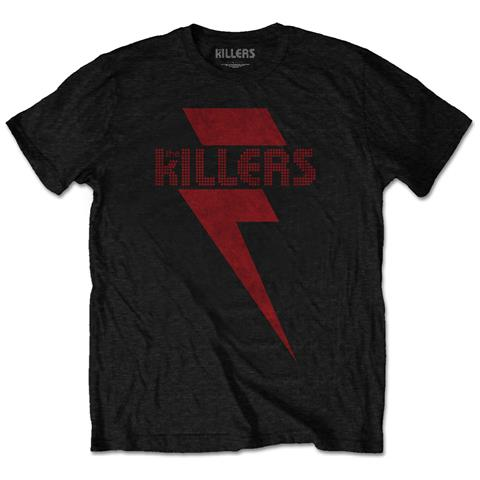 ROCK OFF Killers (The) - Red Bolt (T-Shirt Unisex Tg. M)