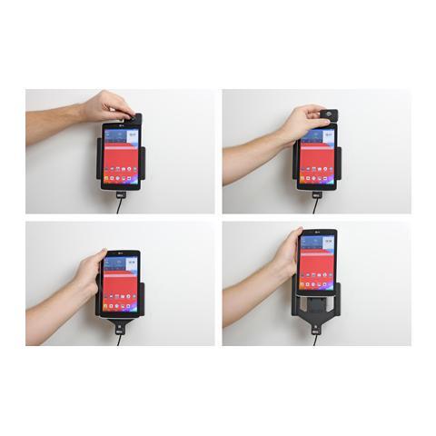 BRODIT 535708 Auto Active holder Grigio supporto per personal communication