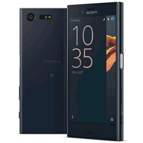 "SONY Xperia X Compact Nero 32 GB 4G / LTE Display 4.6"" HD Slot Micro SD Fotocamera 23 Mpx Android Europa"