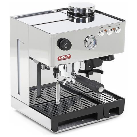 Macchina Caffè Espresso Manuale con Macinacaffè