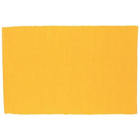 Tovaglietta Rettangolare in Cotone Cotton Giallo 43,0 x 30,0 cm