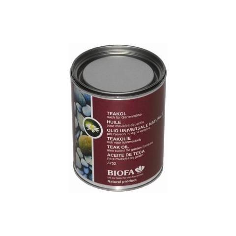 3752 - 5165 Noce 2,5 L Olio Naturale Universale Per L'arredo In Legno Esterno