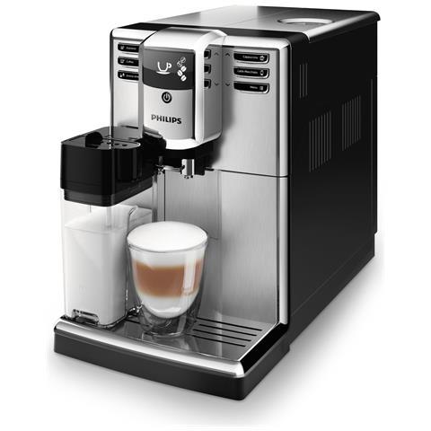 Macchina da Caffè Espresso Automatica Serie 5000 Serbatoio 1.8 L Colore Argento