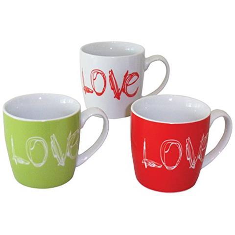 Tazza Mug Lover - Cf. 3 Pz.