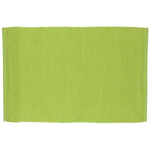 Tovaglietta Rettangolare in Cotone Cotton Verde Acido 43,0 x 30,0 cm