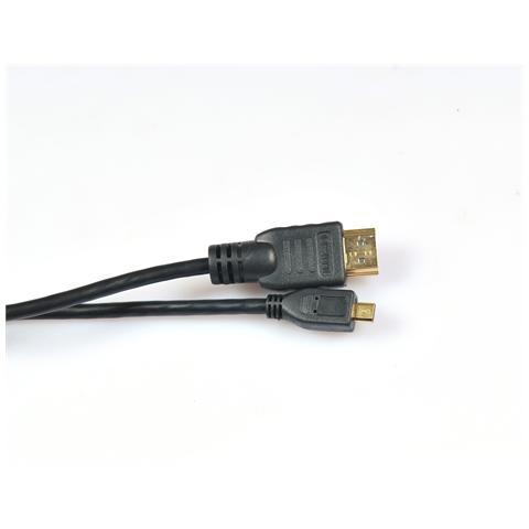 ICT Cavo Hdmi / micro Hdmi Basic Edition Da 1,5mt 1080p