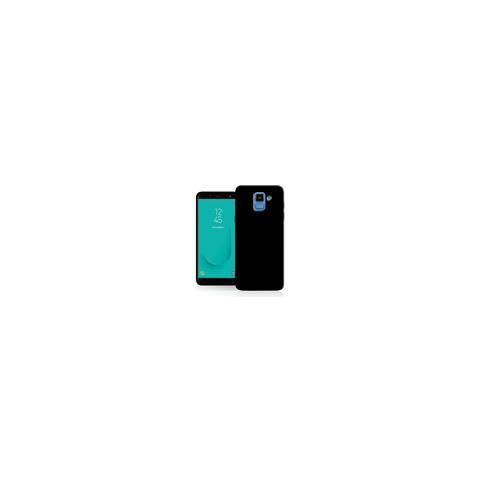 FONEX cover in TPU black 0,6 mm. per Samsung Galaxy j6 black