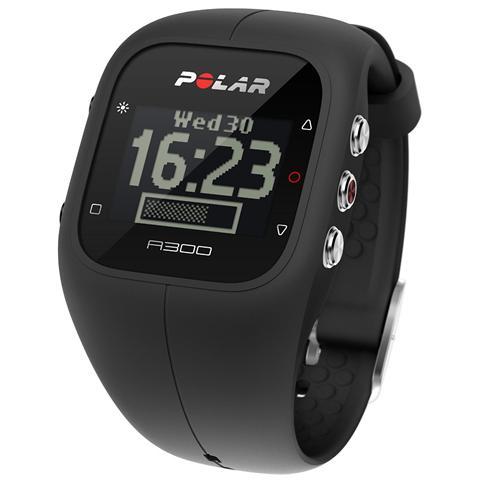 Polar A300 Orologio Fitness e Activity Monitor Bluetooth con Cardiofrequenzimetro Calorie e Sonno - Nero