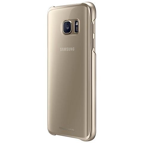SAMSUNG Clear Cover Originale per Galaxy S7 - Oro