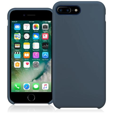 FONEX Executive Touch Cover in Silicone per Apple iPhone 7 Plus Colore Blu