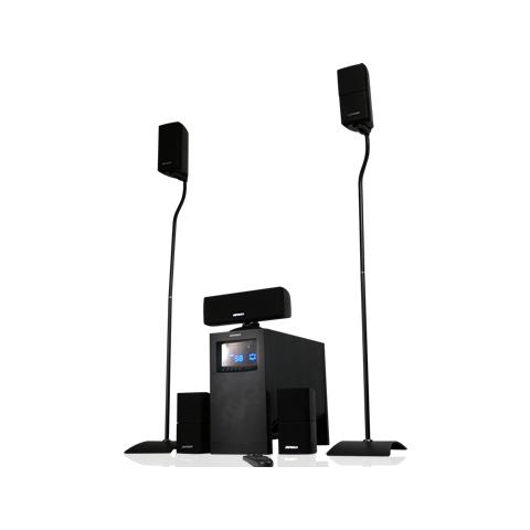 JEPSSEN Home Theatre System Subwoofer 5 Diffusori Hts Amplificatore Digitale 150w