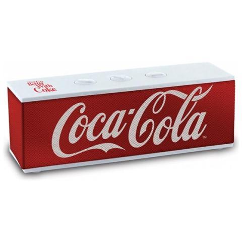 Image of Interactive Coca-Cola BT-01 Classic, 3,81 cm (1.5'') , 1-via, 3 W, Senza fili, Bluetooth / USB, Bluetooth