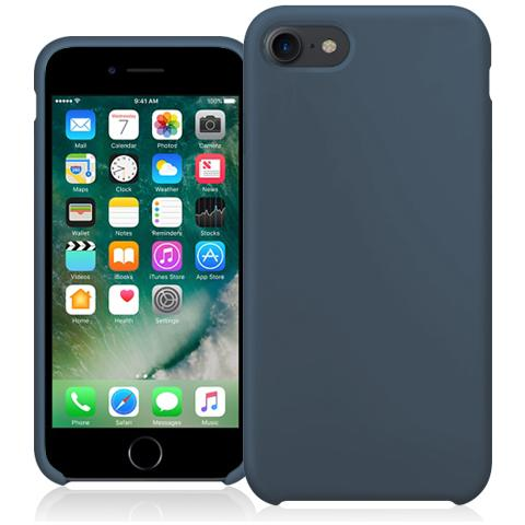FONEX Executive Touch Cover in Silicone per Apple iPhone 7 Colore Blu