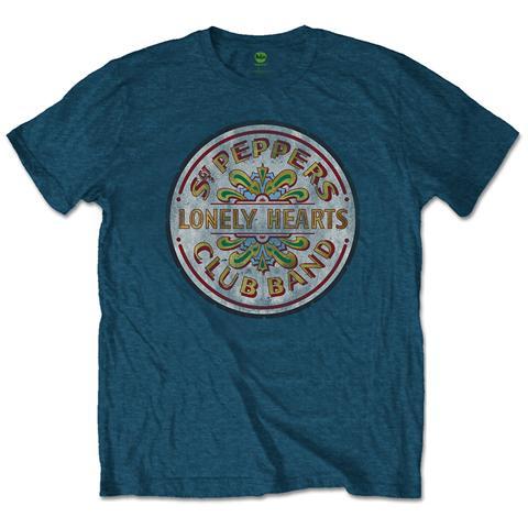 ROCK OFF Beatles (The) - Sgt Pepper Drum (T-Shirt Unisex Tg. M)