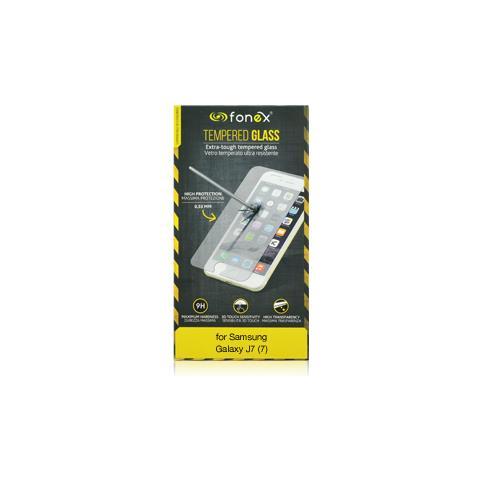 FONEX Protezione Schermo in Vetro Temperato per Samsung Galaxy J7 (7) (1Pz)