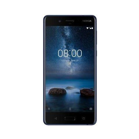 "NOKIA N8 Argento 64 GB 4G / LTE Dual Sim Display 5.3"" Quad HD Slot Micro SD Fotocamera 13 Mpx Android Italia"