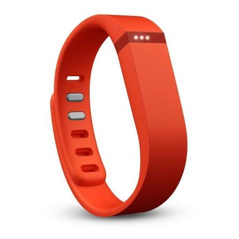 FITBIT Flex Braccialetto Wireless per monitoraggio Attività Fisica e Sonno - Mandarino