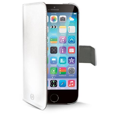 CELLY Custodia a Portafoglio per iPhone 6 - Colore Bianco