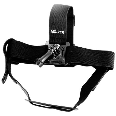NILOX Imbragatura Rotating head strap mount per Action Cam - Nero