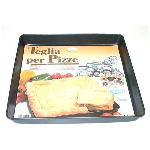 Teglia Pizza Antiaderente 35x34x4.2 Pentole Cucina