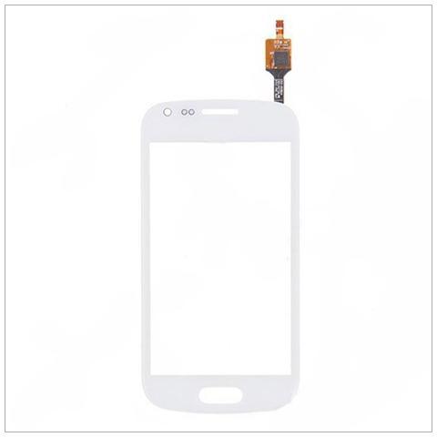 BOMA Schermo Vetro Vetrino Touch Screen Flex Galaxy Trend Plus S7580 Bianco