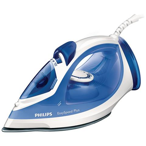 PHILIPS GC-2046/20 EasySpeed Ferro da Stiro a Vapore Potenza 2200 Watt Colore Blu