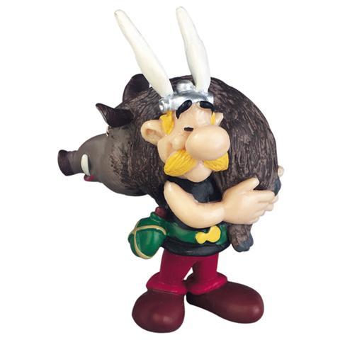 Plastoy 60545 - Asterix - Asterix Con Cinghiale Altezza 6,1 Cm