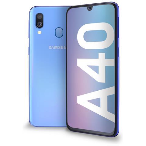 Image of Galaxy A40 Blu Dual Sim Display 5.9'' Full HD+ Octa core Ram 4GB Storage 64GB +Slot microSD Wi-Fi +4G Lte Fotocamera 16Mp Android -Italia