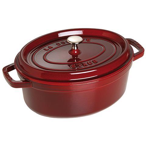 Cocotte in Ghisa con Coperchio Diametro 29 cm Capacità 5 lt Colore Rosso - Linea La Cocotte