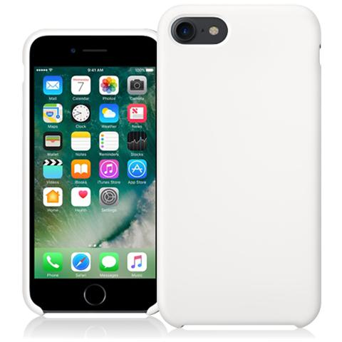 FONEX Executive Touch Cover in Silicone per Apple iPhone 7 Colore Bianco