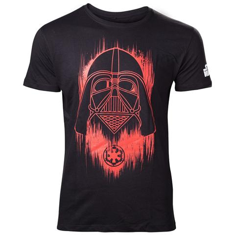 BIOWORLD Star Wars Rogue One - Red Faded Darth Vader (T-Shirt Unisex Tg. 2XL)