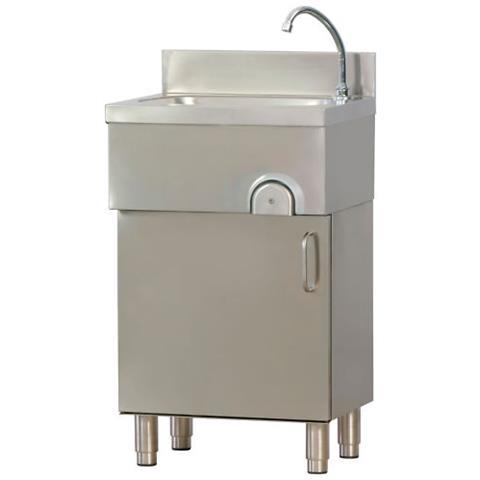 Lavamani Inox Comando A Ginocchio Cm 50x40x85 Rs1360
