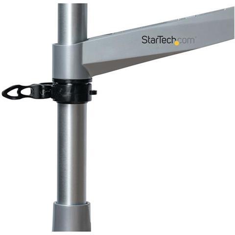 ARMPIVOTB2 supporto da tavolo per Tv a schermo piatto 76,2 cm (30'') Argento