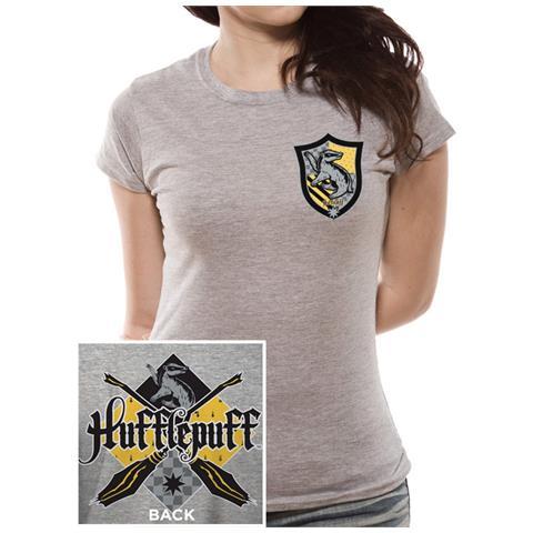 CID Harry Potter - House Hufflepuff (T-Shirt Donna Tg. Xl)