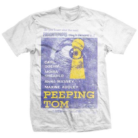ROCK OFF Studiocanal - Peeping Tom (T-Shirt Unisex Tg. S)