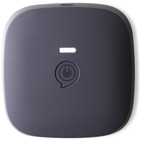 ZENS ZEPP03B / 00 7800mAh Nero, Argento batteria portatile