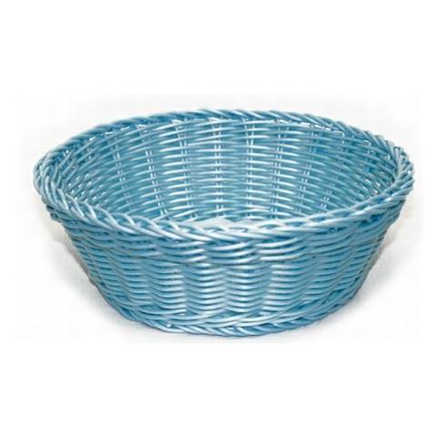 EXCELSA 41244 Cestino Intreccio per Alimenti Diametro 20 cm Colore Azzurro