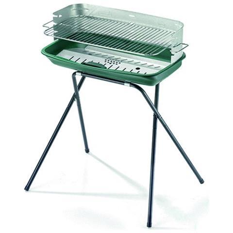 Image of Barbecue 60-40 Ergo Alu altezza 80 cm dimensioni del braciere 60 x 36 cm Peso 8.5 Kg