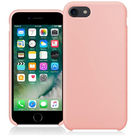 FONEX Executive Touch Cover in Silicone per Apple iPhone 7 Colore Rose Gold