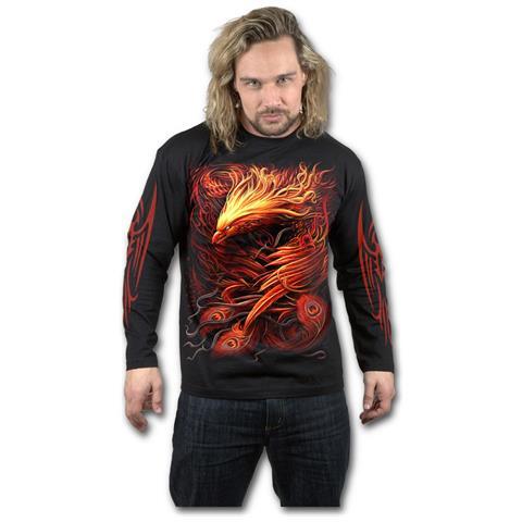 SPIRAL Phoenix Arisen Black (Maglia Manica Lunga Unisex Tg. 2XL)