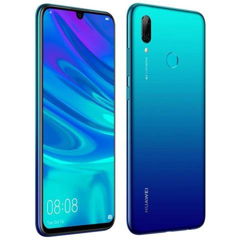 P smart 2019 Aurora Blu Display 6,21'' Full HD+ Octa Core Ram 3GB Storage 64 GB +Slot MicroSD Wi-Fi +4G...